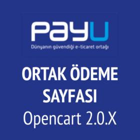 Opencart 2 PayU ortak ödeme v-2 (PayU LU)